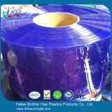 냉장고 냉장고 매끄러운 파란 비닐 플라스틱 PVC 지구 문 커튼
