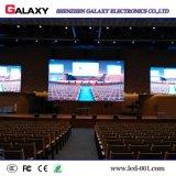 Visualización de LED de alquiler de interior/al aire libre P3/P4/P5/P6 para la demostración, etapa, conferencia (de aluminio a presión la fundición)