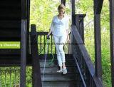 Шланг сада, сад Zhijing гибкие расширяемый расширяя & шланг воды лужайки ноги 75 FT для всех потребностей (голубых)