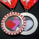 Personalizado de aleación de zinc Media Maratón 5k Deporte Medalla de la concesión