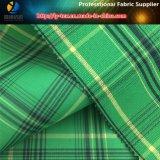 Tela del poliester, tela teñida hilado del telar jacquar para los pantalones