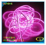 câble au néon des silicones DEL de 2835SMD IP65 avec la conformité de RoHS de la CE