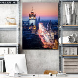 Réalisme Cityscape Canvas Print From Photo