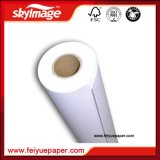 Fw 57GSM Fast Dry 24inch Jumbo Roll Sublimation Papier de transfert Non-Curl
