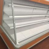 De commerciële Harder van de Vertoning van de Groenten en van de Vruchten van de Supermarkt Rechte