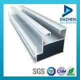 Profilé d'extrusion en aluminium aluminium en aluminium 6063 sur mesure avec des couleurs optionnelles