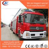 6X4 Tianlong 12000liters asciugano la gru montata camion dei vigili del fuoco di Podwer