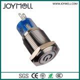 Bouton-poussoir électrique en métal à LED électrique de haute qualité