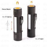 Precio competitivo linterna LED linterna táctica, la luz de batería seca (11-1T1501)