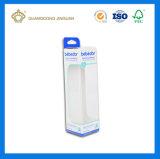 Rectángulo de empaquetado de papel de los productos de los juguetes de los niños con la ventana clara del PVC ((surtidor de China)
