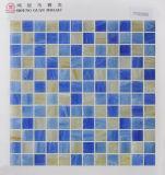 Стеклянная плитка пола мозаики 23*23mm