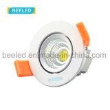 거울같은 5W Dimmable에 의하여 중단되는 순수한 백색 프로젝트 상업적인 LED Downlight