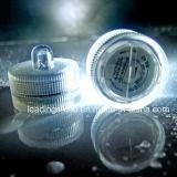 Sumergible con pilas del parpadeo del LED Cera vela del pilar de la luz del té
