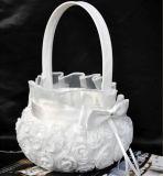 Carrinho de flores de casamento de Bowknot com ecologia ecológica (Dream-100073)
