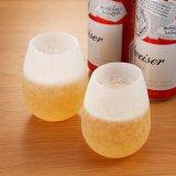 Gobelets de whisky à bière en silicone pliables