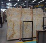 Losas de la venta caliente, azulejos del mármol de Onyx y losas de mármol amarillentos