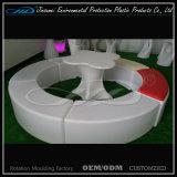 [لد] قضيب يضاء كرسي تثبيت مع أو بدون جلد مقعد