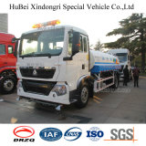 11cbm 11ton Sinotruk HOWO de Euro Vrachtwagen van de Sproeier van het Vervoer van Water 4 met Dieselmotor