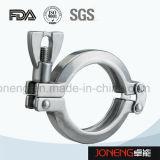 Higiénico acero inoxidable solo perno de la abrazadera (JN-CL2003)