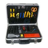 Польностью запасенная коробка комплекта инструмента прекращения оптически кабеля