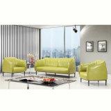 Multi farbiges Freizeit-modernes ledernes Sitzungs-Empfang-Raum-Büro-Sofa