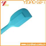 Черный цвет простой очистки 3 размера экологически безвредные FDA/Food Grade кухонной посудой силиконовые ложки черный / масло деревянным шпателем /торт деревянным шпателем (YB-HR-46)