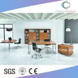 現代家具の木のコンピュータの机の支配人室表
