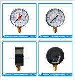 연결 압력 측정하 기름에 의하여 채워진 압력 측정하 빨간 경보 압력 계기를 낮추십시오