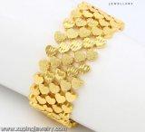74486 het Goud van de manier 24k plateerde de Grote Brede Armband van Juwelen in de Legering van het Metaal