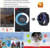 Горячее сбывание! No 1 A10 Bluetooth водоустойчивое IP68 Smartwatch вахты нового спорта 2016 франтовское для франтовского телефона с тарифом сердца для напольного померанцового цвета