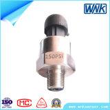 Sensore di pressione di acqua potabile dell'aria dell'acciaio inossidabile Spi/I2c/0.5-4.5V/4~20mA, prezzo di fabbrica professionale