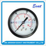 El precio de fábrica de presión de acero de calibre Negro Indicador de presión-Dry manómetro