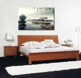 Het muurschilderij van de Decoratie van de Boot UV Afgedrukte met het Landschap van het Meer