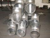 Het Naadloze T-stuk van het roestvrij staal met ASTM (316TI)