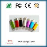Hot teléfono USB OTG personalizado de memoria Flash USB de almacenamiento USB
