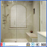 Clear & Frosted 8mm 10mm Douche / Porte de salle de bain Verre Tempered / Toughened Glass