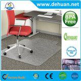 Couvre-tapis antidérapage de bobine de PVC/couvre-tapis d'étage pour des présidences de bureau