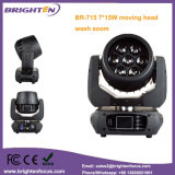 RGBW 7*15W LED Wäsche-mini beweglicher Kopf mit lautem Summen