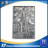 Медальон серебряной монеты для сувенира