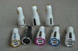 Портативный двойной заряжатель автомобиля USB QC2.0 для телефона iPhone франтовского