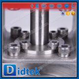 Шариковый клапан вафли куртки изоляции жары Didtek пневматический для пара