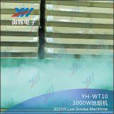 Профессиональная низкая машина DMX DJ тумана приводит земную машину в действие тумана этапа 3000W для световых эффектов этапа