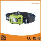 ABS LEIDENE van de Sensor van de 3*AAA- Motie Hoofd Lichte AutoLamp