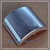 N35-N52 de gesinterde Magneet van de Motor van het Neodymium met het Plateren van het Nikkel