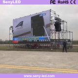 Innenim freienvideo P5.95, welches die Miet-LED-Bildschirmanzeige bekanntmacht (beweglich)