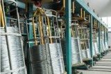 1.0-5.0mm 직류 전기를 통한 높은 탄소 철강선 아연 입히는 철강선