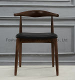 Cadeira ao ar livre de madeira do café da mobília de Soild para o restaurante