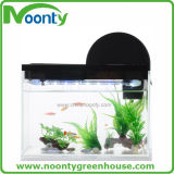 Multi-Funções LED Light Perpetual Calendar Bar Counter Aquarium Fiberglass Aquaponics Fish Tank