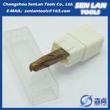 Торцевая фреза карбида вольфрама HRC45/55/60/65 твердая с печатание логоса