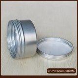 алюминиевые чонсервные банкы 200ml с крышками винта для косметик